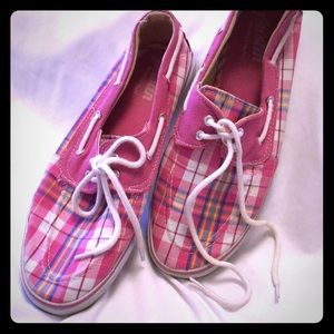 Checkered sneakers P006